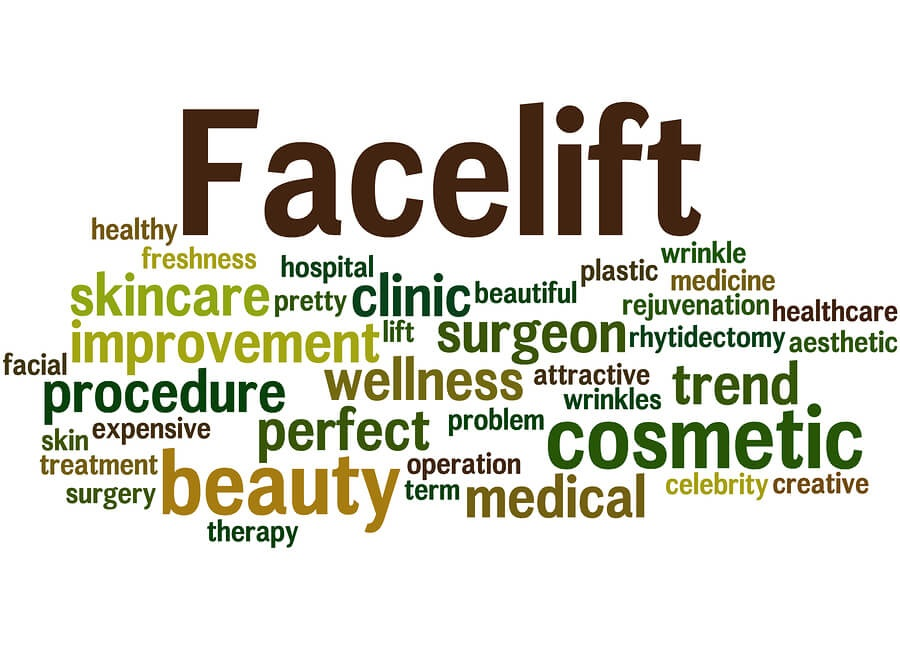mini facelift words